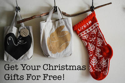 Get Your Christmas Gifts For Free