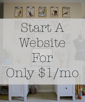 Start A Website For Only $1