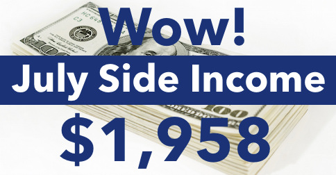 Making Money From Home - July Update $1,958