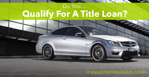 Do You Qualify For A Title Loan