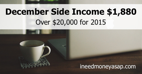 Making Money From Home - December Update $1,880