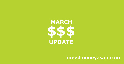 March Side Income - $907 Small
