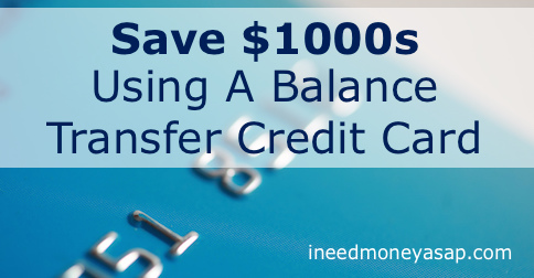 Save $1000s Using A Balance Transfer Credit Card - Flickr - Ed Ivanushkin - Small