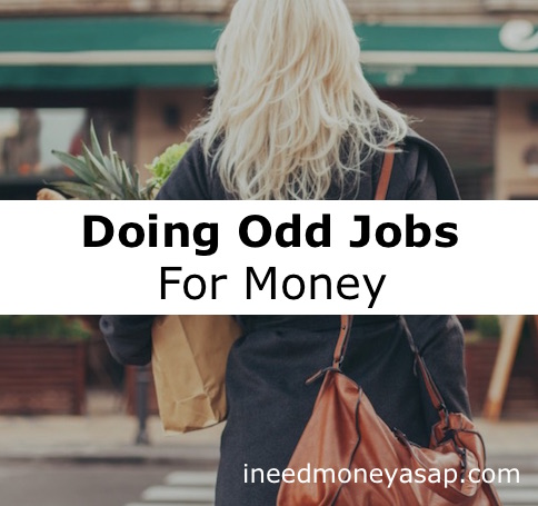 Doing Odd Jobs For Money - Small